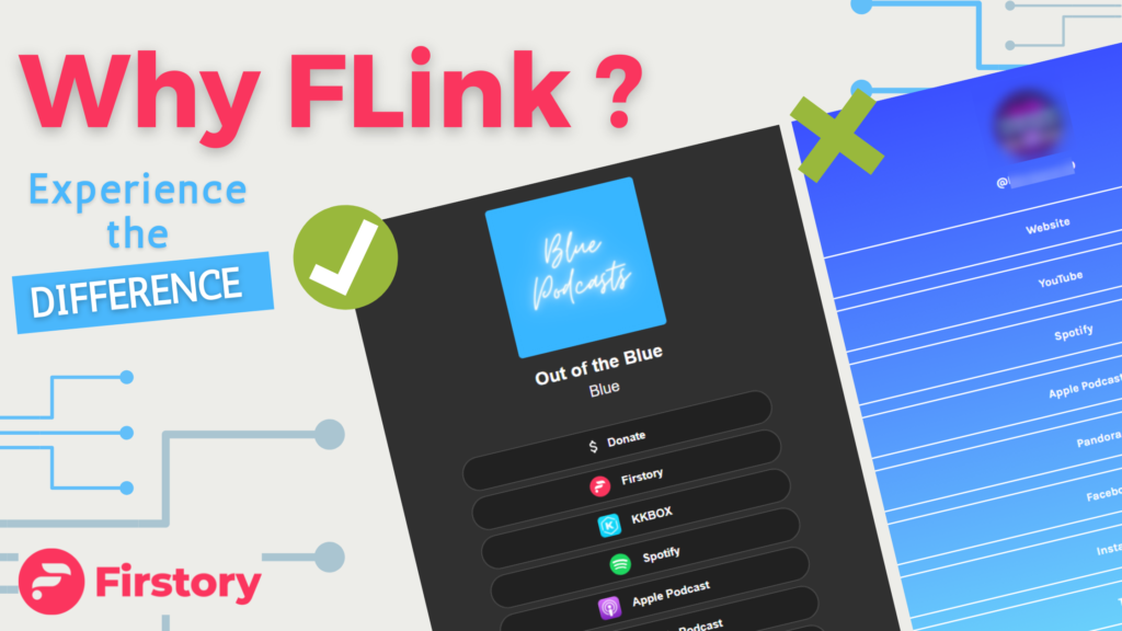 Promote your podcast with FLink by Firstory