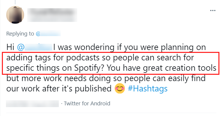 Getting your podcast found on searches