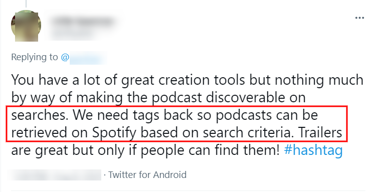 Why tags are important for podcast SEO search results