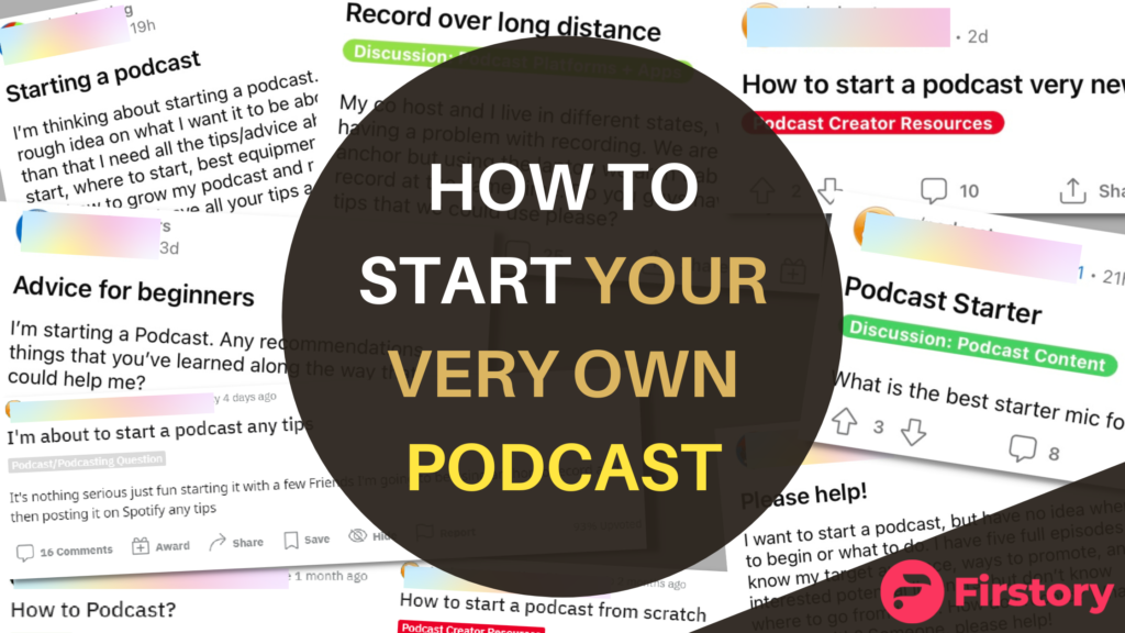 5 easy steps to start a podcast